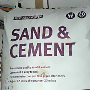 Sand and Cement